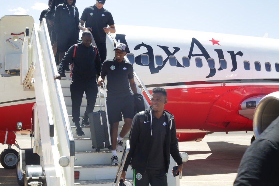 Eagles Arrive in Maseru Ahead Sunday's Clash With Lesotho