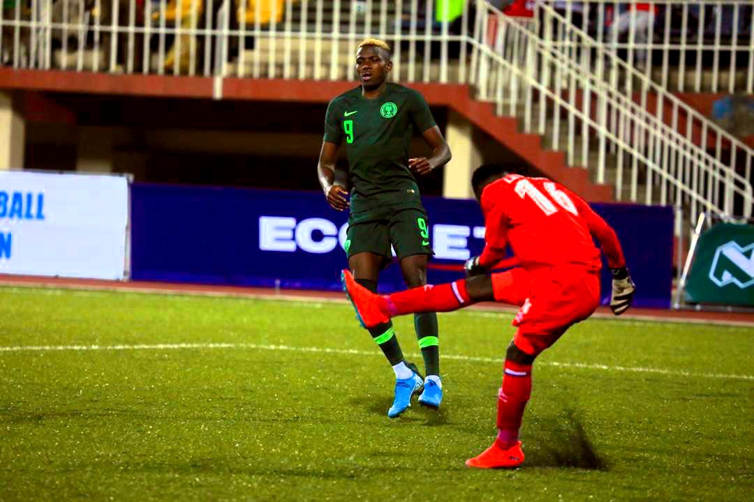 Osimhen Hails Impressive Super Eagles' Showing Vs Lesotho
