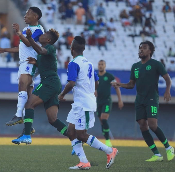 Iwobi Thrilled To Score For Super Eagles In Win Vs Lesotho