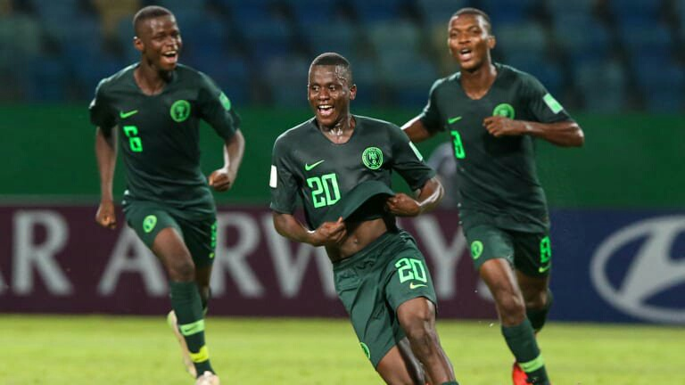 FIFA U-17 W/Cup: Golden Eaglets Star Said Nominated For Goal Of Tournament Award