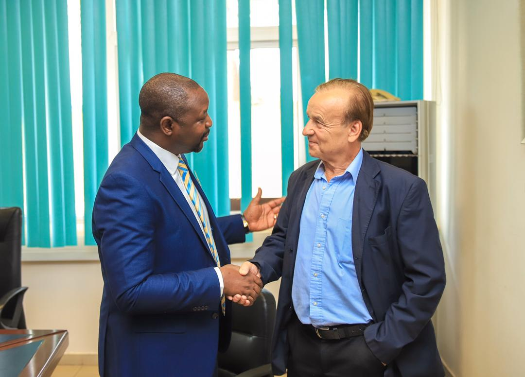 Sports Minister Dare: Rohr's Contract Extension Lies With NFF