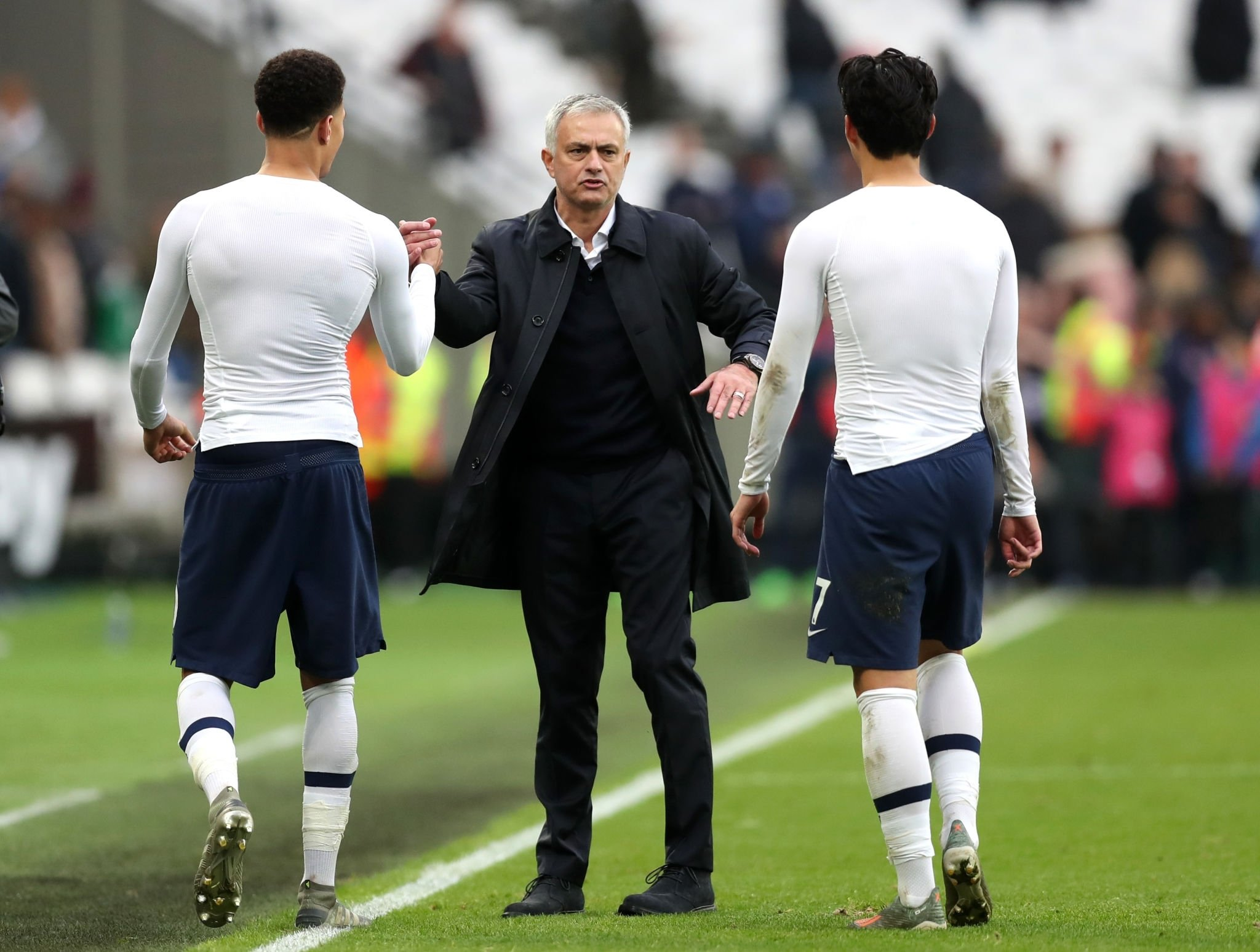 Mourinho Talks Up Happiness With New Job, Spurs' 1st Away Win in 10 Months