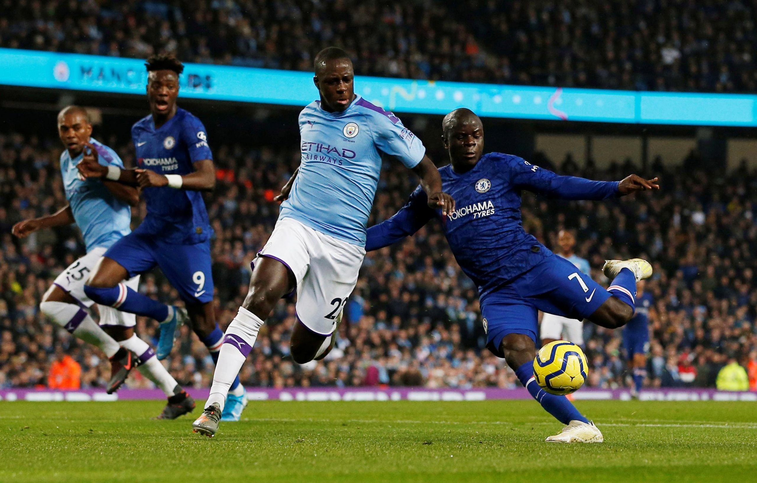 EPL: Man City Rally Back To Beat Chelsea 2-1 At The Etihad