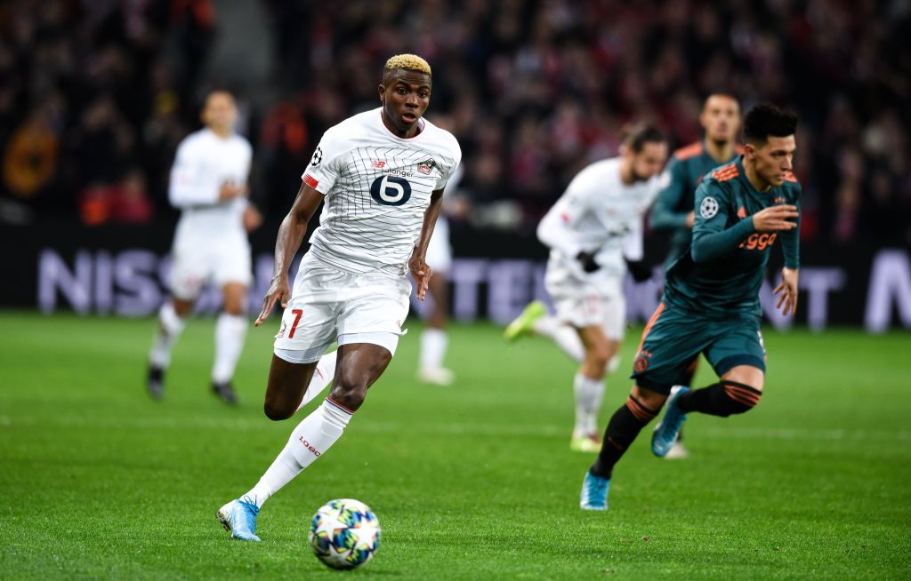 UCL: Osimhen Targets Chelsea Scalp After Home Defeat To Ajax
