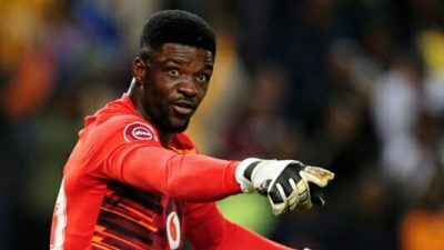 Akpeyi: No Rivalry With Bafana Goalie Khune