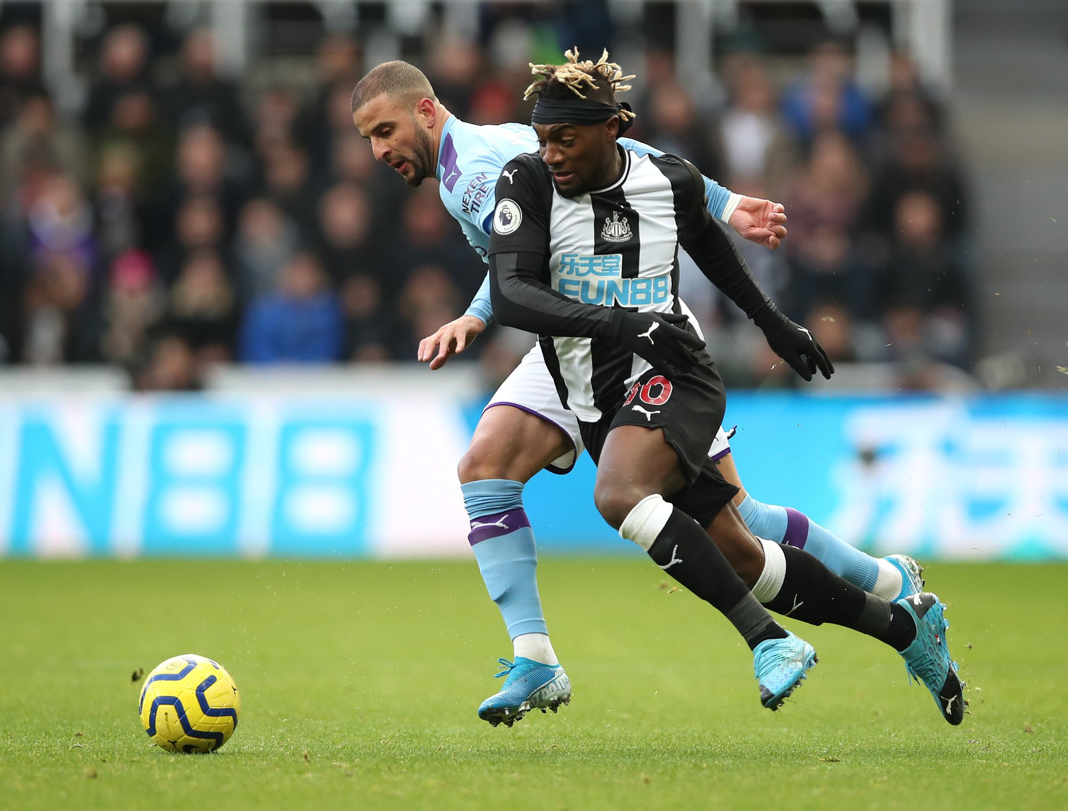 EPL: Newcastle United Hold Man City At St James' Park