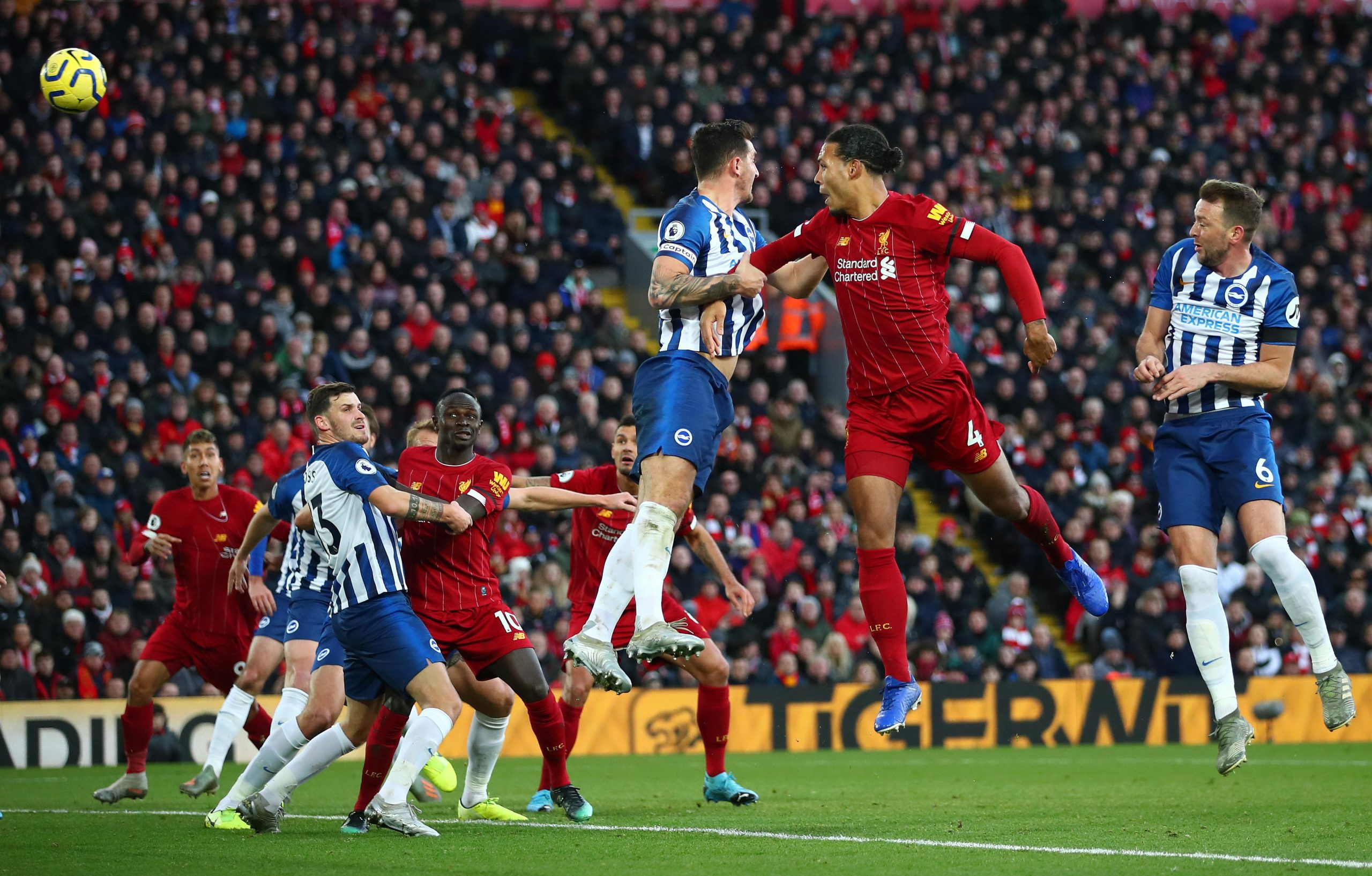 EPL: Liverpool Pip Brighton; Go 11 Clear, West Ham Stun Chelsea