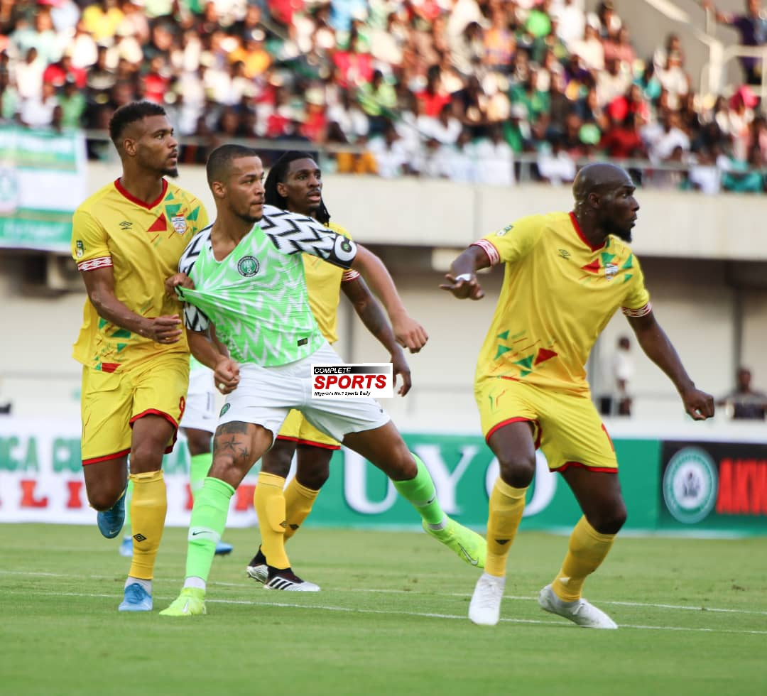 2021 AFCON Qualifier: Super Eagles Fight Back To Beat Benin 2-1 In Uyo