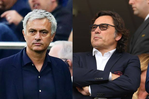 Mourinho Dines With Arsenal Chief Over Possible Signing