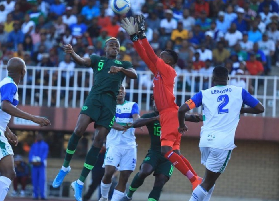 Ndidi Thumbs Up Eagles, 'Firebrand' Osimhen In Win Against Lesotho