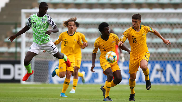 Brazil 2019: Poor Eaglets Lose Dead Rubber Group B Match 2-1 To Resurgent Australia