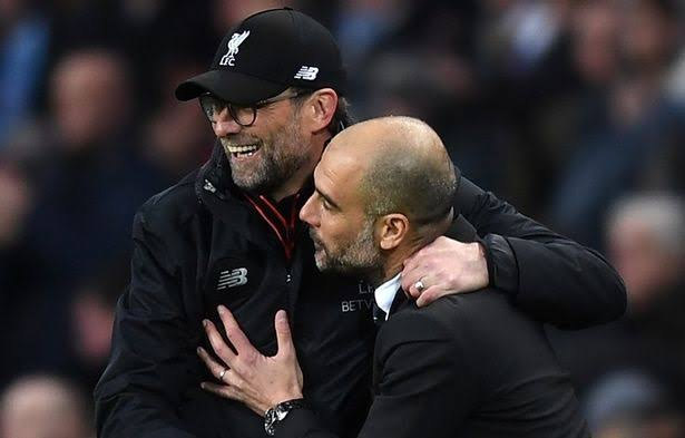 Klopp Runs Off After Seeing Guardiola (Video)