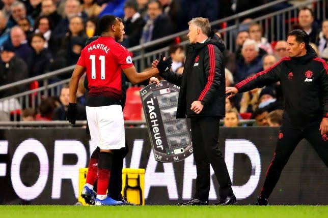 Solskjaer Hails Martial's Maturity, Expects More Goals From Him
