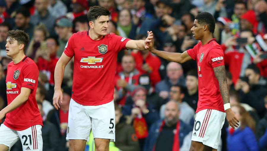 Man United Sweating Over Rashford, Lindelof And Maguire Fitness