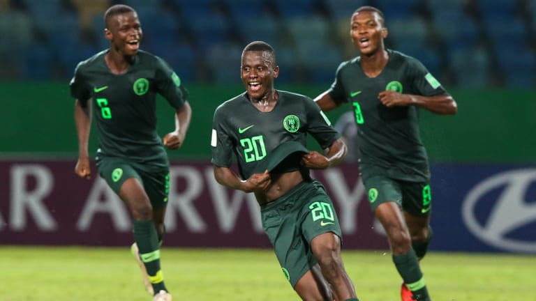 Said, Olawale Goals Listed Among Best Of  2019 U-17 World Cup Group Stage