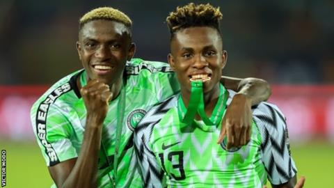 Chukwueze, Osimhen Inclusion In CAF Youth Award Final Shortlist Excites Amuneke
