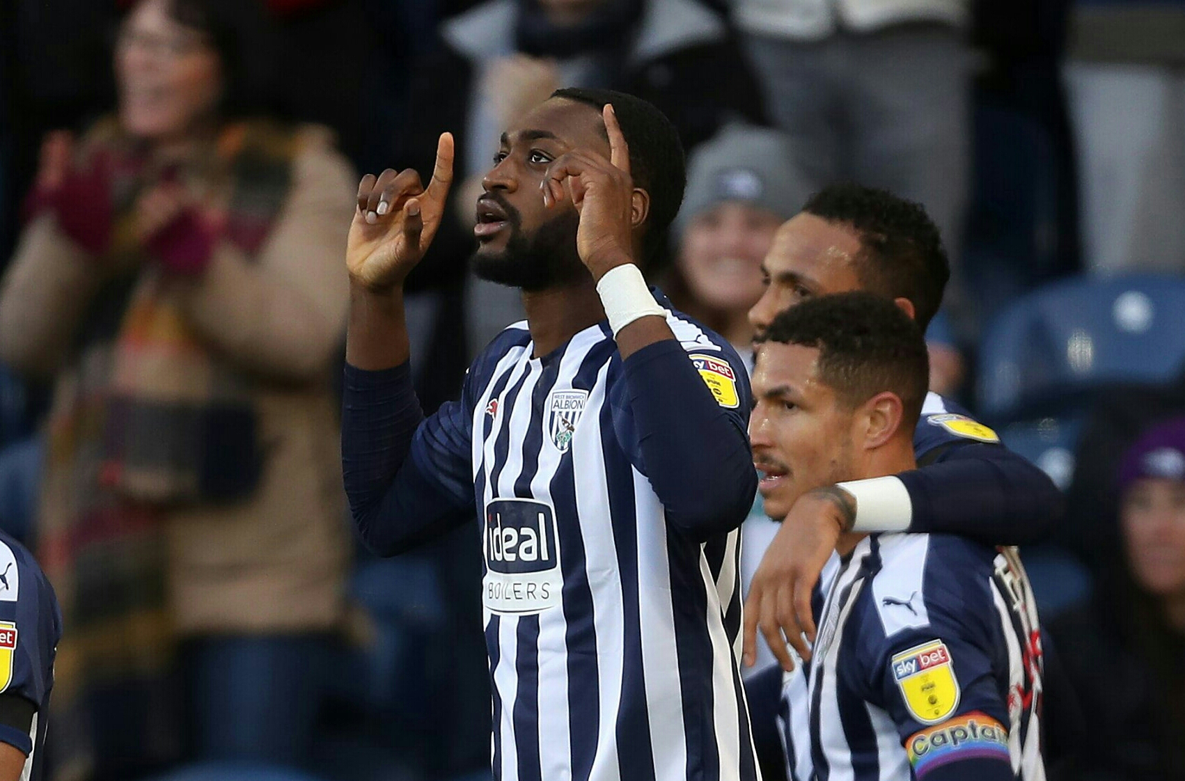 Championship: Ajayi Helps West Brom Secure Win Vs Derby, Climb To Top