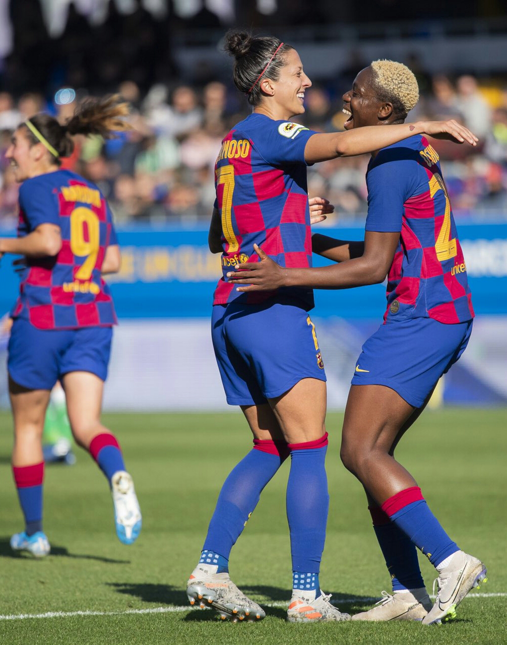 Oshoala Thrilled As Barcelona Ladies Are Crowned League Champions