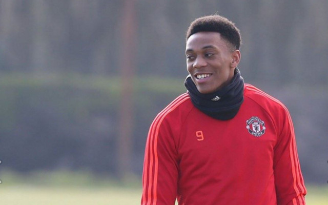 Martial Set To Return From Injury Ahead Manchester Derby