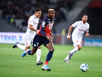 Osimhen Scores, Suffers Injury In Lille's Cup Win Against Monaco