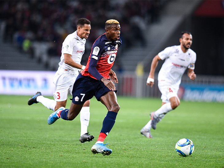 Osimhen Misses Late Penalty In Lille's Home Win Against Montpellier