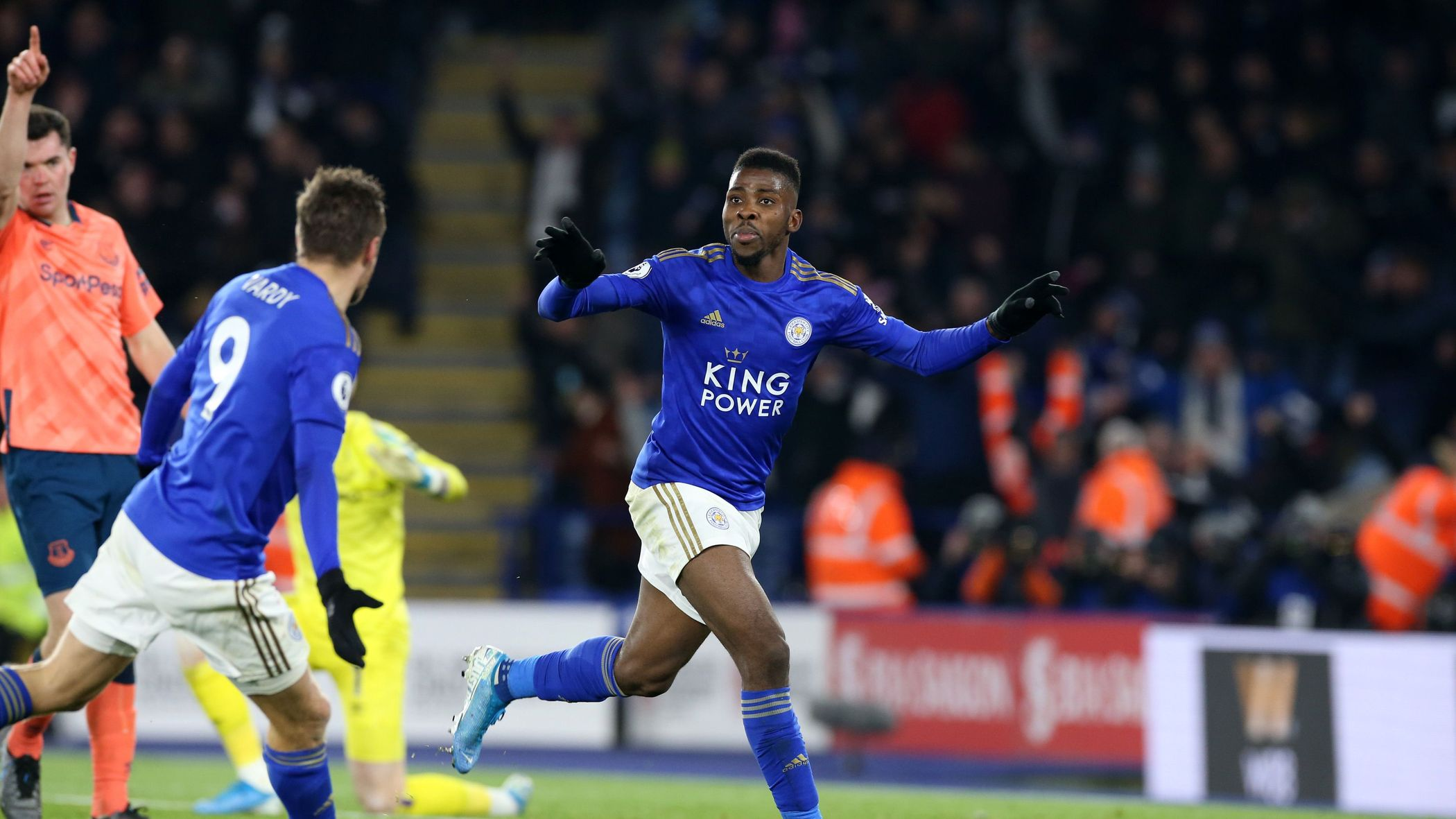 Image result for IHEANACHO VOTED MAN OF THE MATCH IN LEICESTER CITY'S  WIN