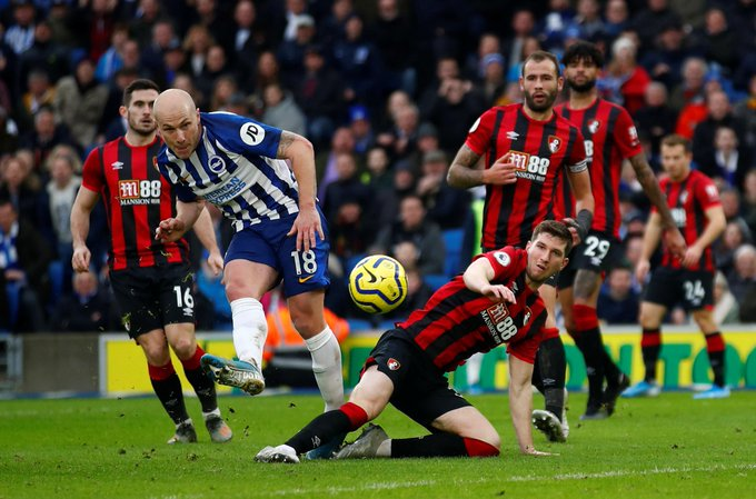 EPL: Balogun Missing In Action Again As Brighton Sink Bournemouth