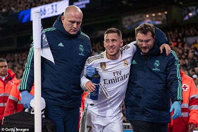 Hazard With Ankle Injury,  Doubtful For El Clasico Clash