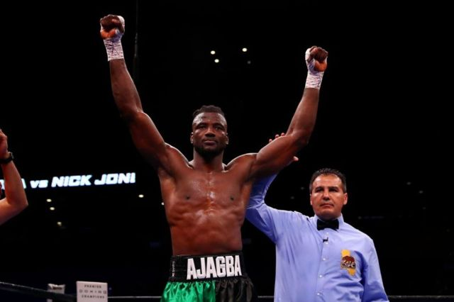 Ajagba Survives Knockdown To Claim 5th Round Win
