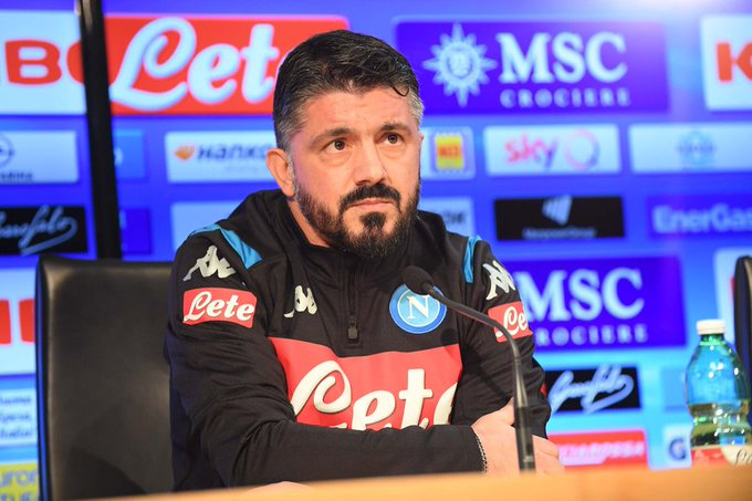 Gattuso Replaces Ancelotti As Napoli New Head Coach
