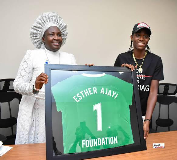 Esther Ajayi Foundation Sponsors Oshoala Footballforgirls Camp