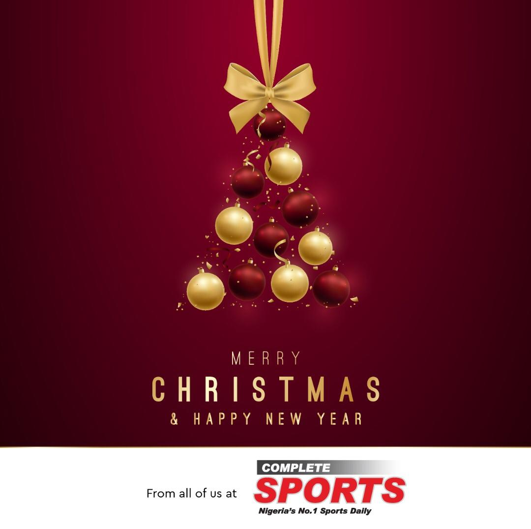 Merry Christmas and Happy New Year From Complete Sports