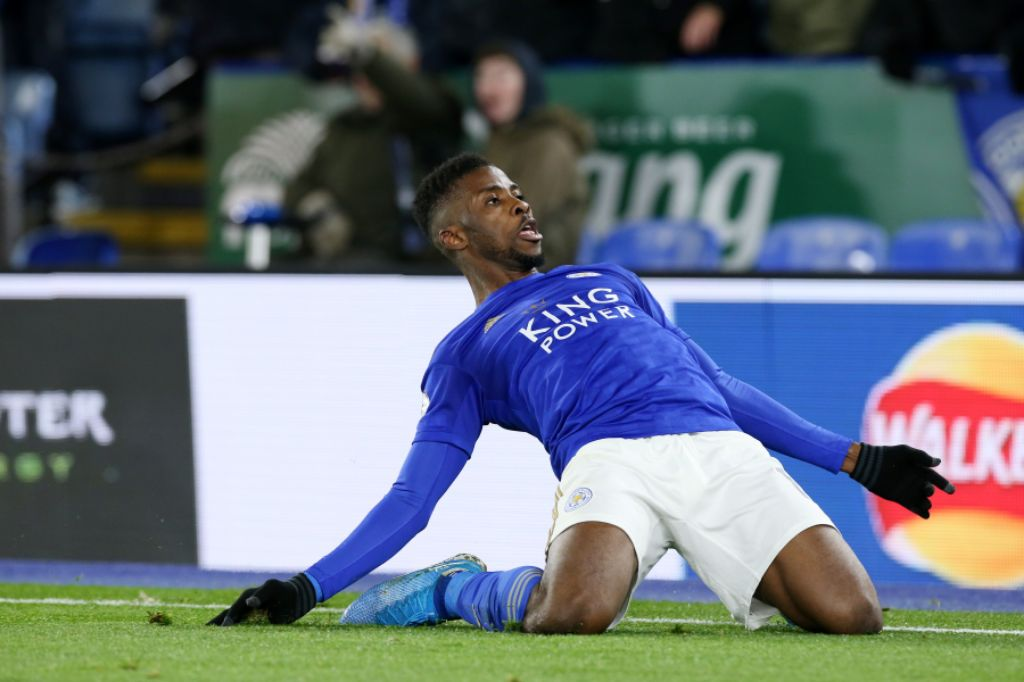 Iheanacho Dedicates Goal For  Leicester to Teammates, Family, Fans