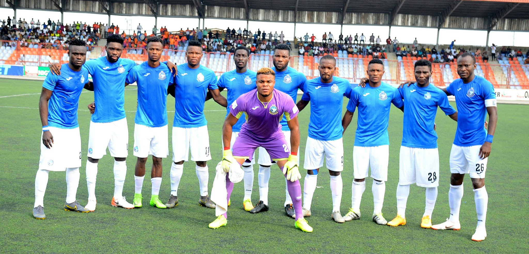 CAFCC: Enyimba Qualify For Q/Final After Edging Past San Pedro 5-2  In Abidjan