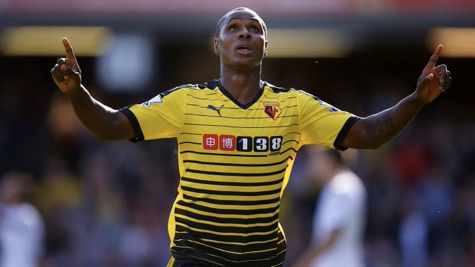 Ighalo Targets Premier League Return