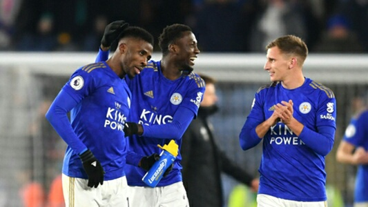 Ndidi Hails Iheanacho's Return To Goalscoring Form For Leicester City