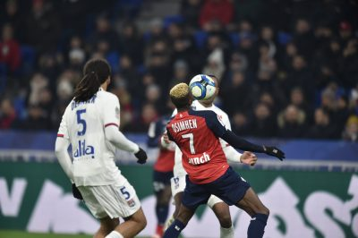 Ligue 1: Osimhen Grabs Assist In Lille's 1-0 Away Win Against Lyon.