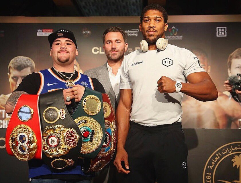 Joshua: I Won't Celebrate If I Regain My Belts From Ruiz