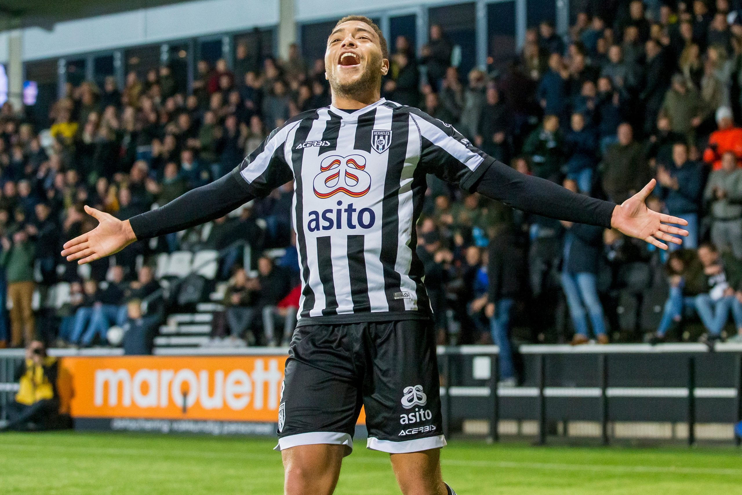 Heracles Forward Dessers Eager to Play For Nigeria