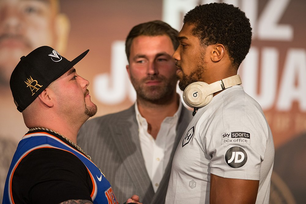 Ruiz Wants Joshua To Fight Angry In Heavyweight Rematch