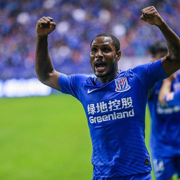Ighalo Wins Chinese FA Cup Title With Shanghai Shenhua