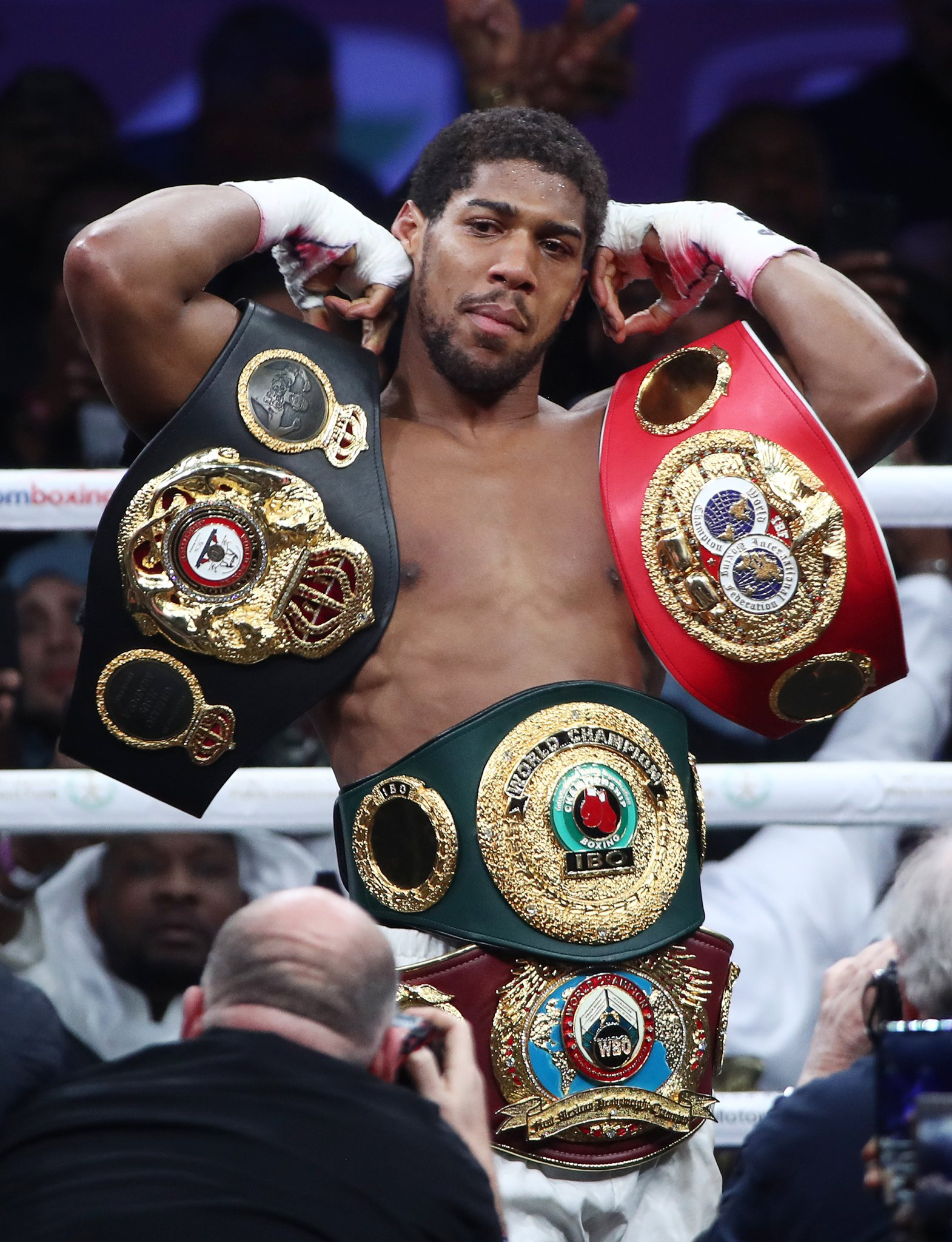 Joshua Pockets £46m For Beating Ruiz In Rematch