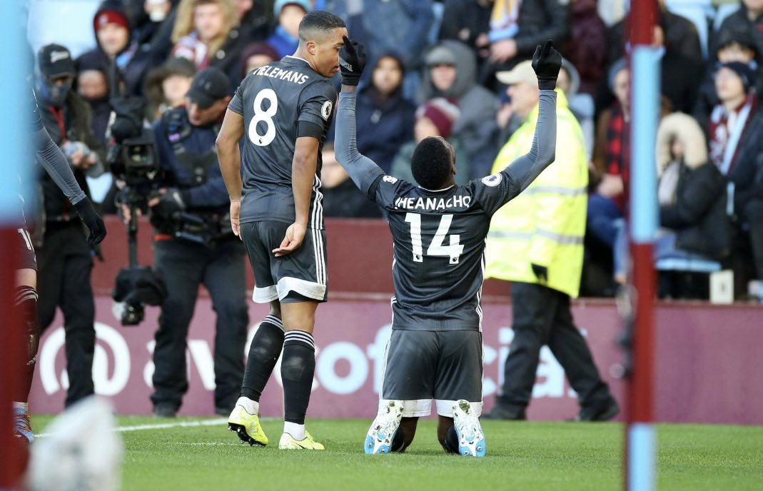 "Iheanacho Thrilled With Leicester City's ""Fantastic"" Away Win Against Aston Villa"