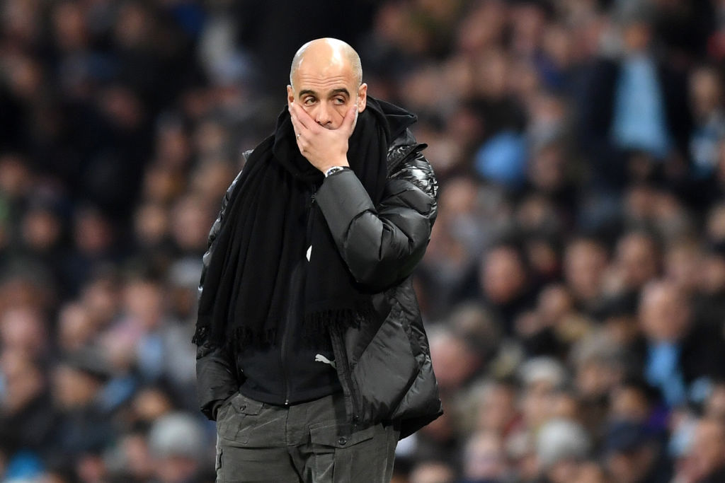 Guardiola: Manchester City Can't Compete With Elite Clubs