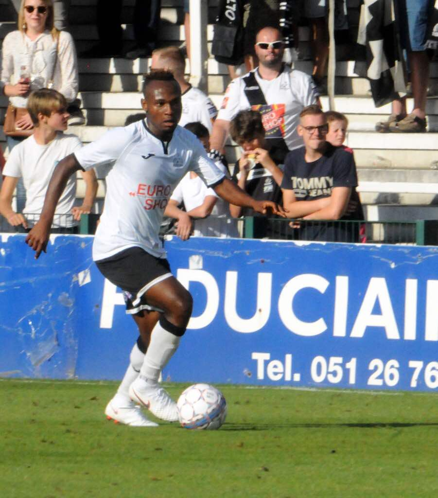 Godwin Set to Mark 100th Game With Roeselare