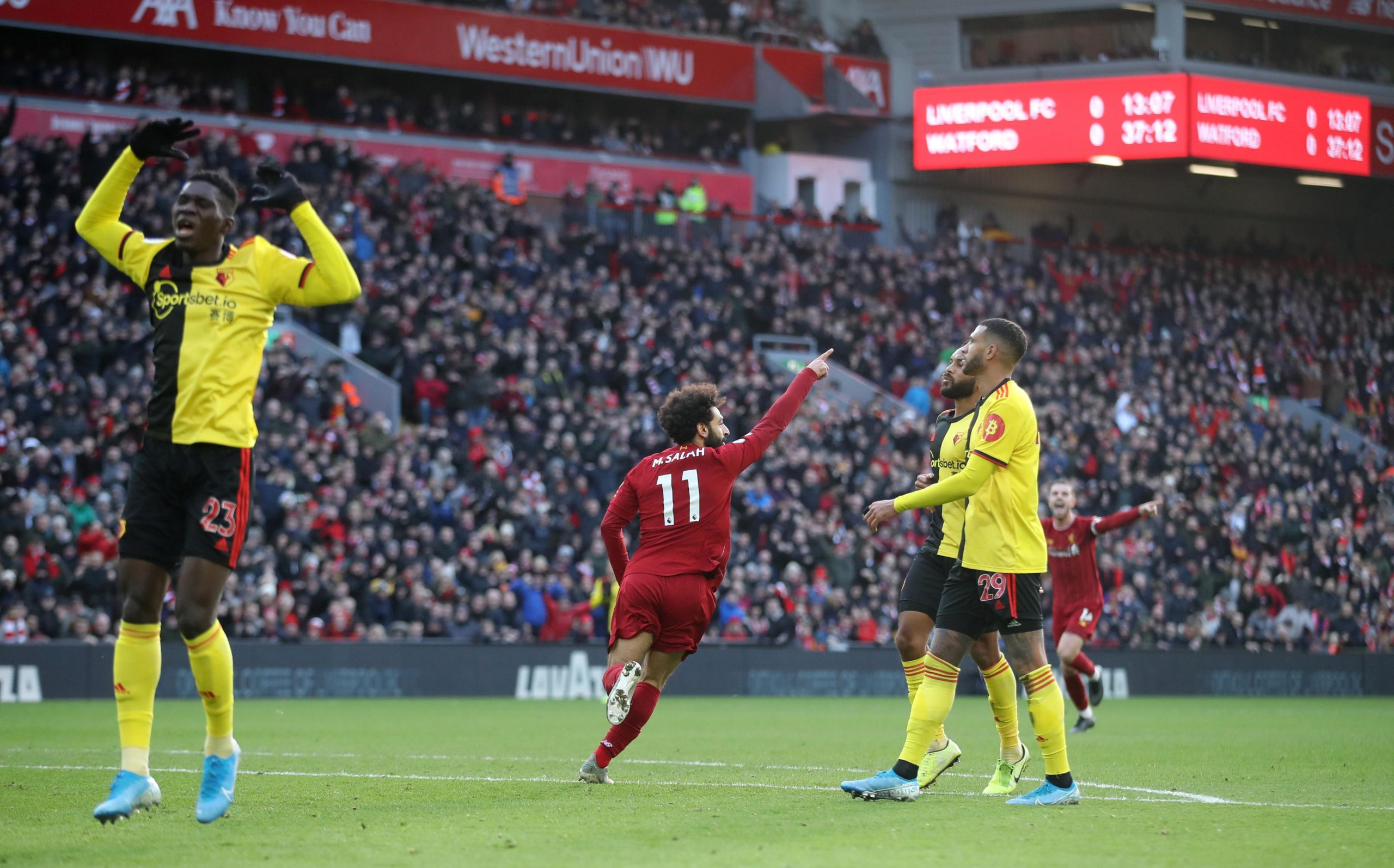Success Benched As Salah's Double Inspires Liverpool 2-0 Win Vs Watford