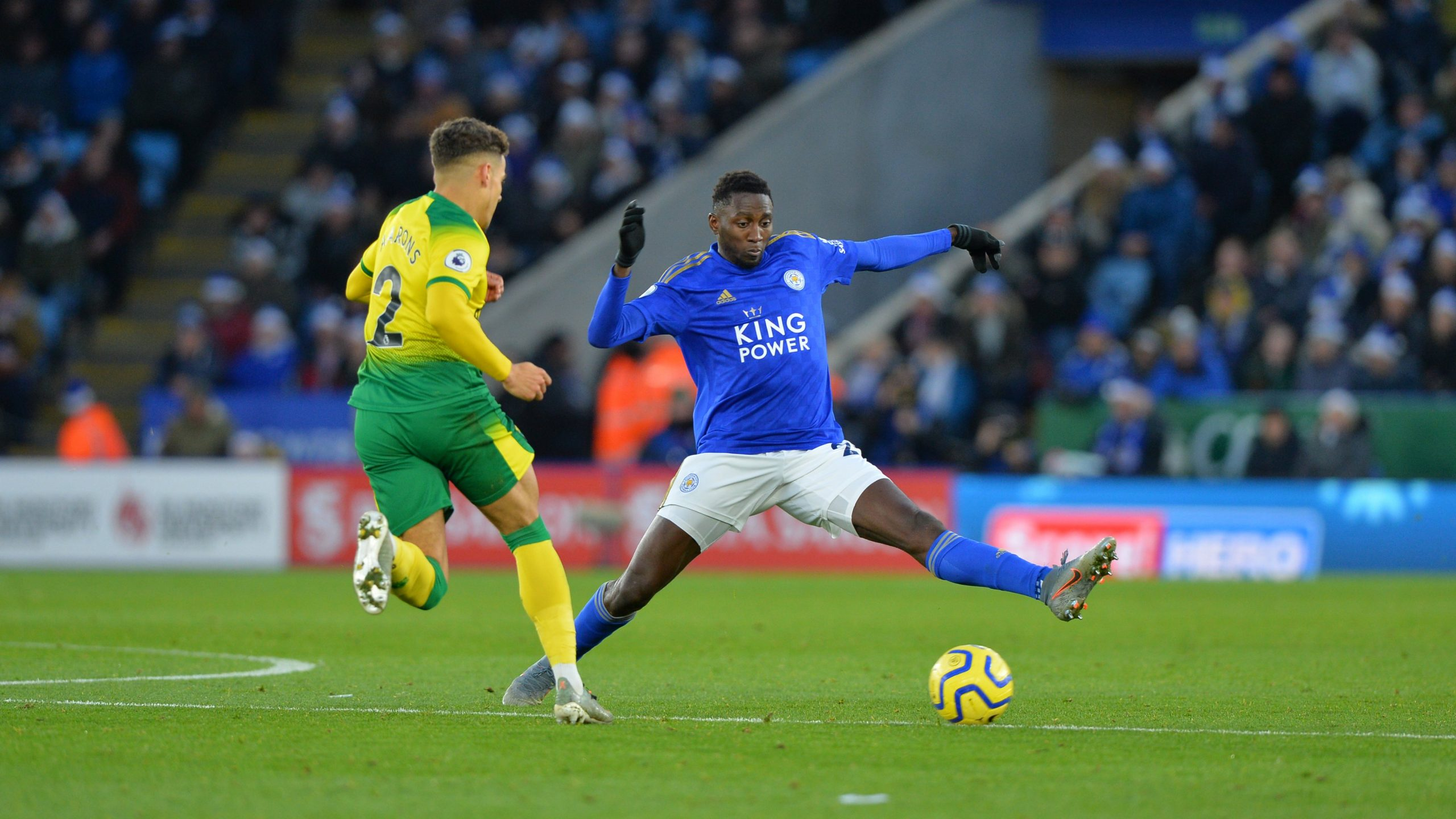 Ndidi Elated Leicester City End 2019  With Win