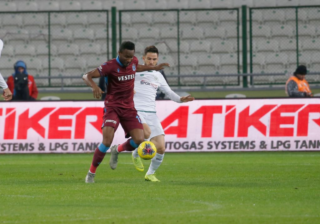 Nwakaeme Bags Assist, Mikel Also In Action As Trabzonspor Win At Konyaspor