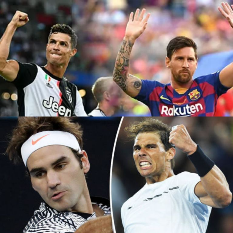 Messi v Ronaldo And Federer v Nadal:  Tennis Superstar Rejects Rivalries Comparison