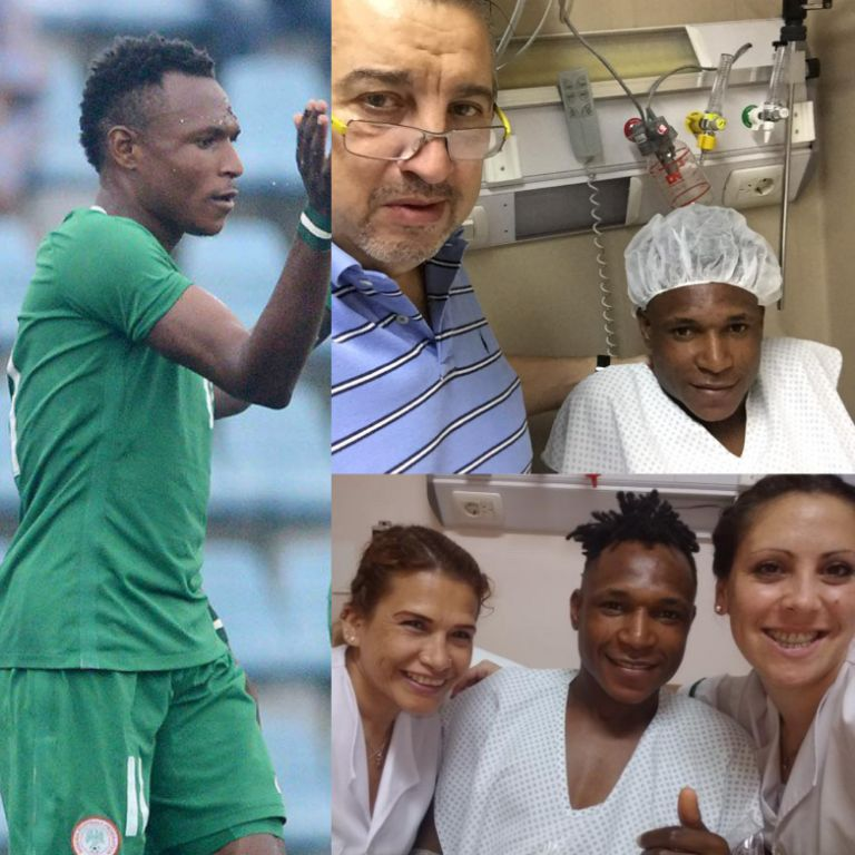 Flying Eagles Winger Alalade Undergoes Successful Surgery In Argentina